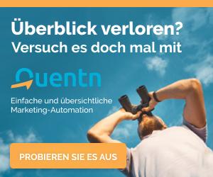 Mehr Überblick im E-Mail Marketing mit Quentn