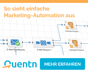 Marketing Automation mit Quentn