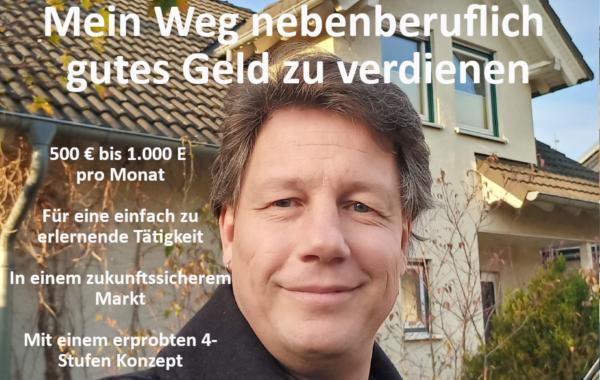 Sinus e Pi - VP-Suche - Mein Weg nebenberuflich gutes Geld zu verdienen - Michael Carstens von seinem Haus