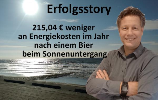 Sinus e Pi - Erfolgsstory - 1- Michael am Norderneyer Strand